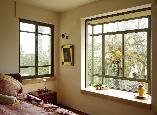חלונות הזזה בלגיים שומרים על מראה מעודן.